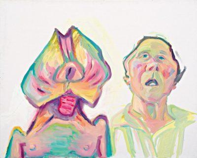Zwei Arten zu sein, Maria Lassnig, 2000
