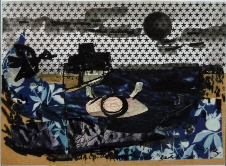"Kolaż do poematu ""Samotność"" (Verlassenheit) ⓒ Michael Bartsch"
