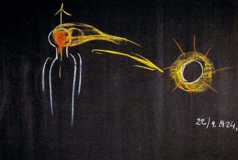 Rysunek Rudolfa Steiner / Barry William Hale