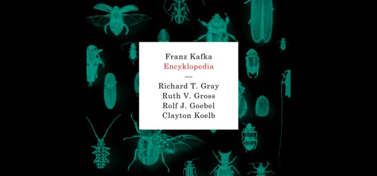 """Okładka """"Franz Kafka. Encyklopedia"""""""