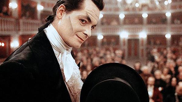 """Fritz Karl w filmie """"Die Verhaftung des Johann Nepomuk Nestroy"""" w reż. Dietera Bernera (2000)"""
