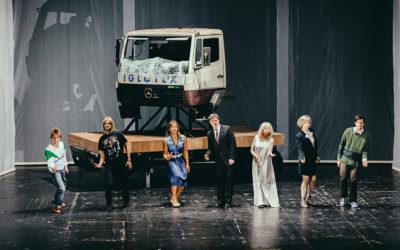 """""""Die Zehn Gebote"""" / reż. Stephan Kimmig © Volkstheater"""