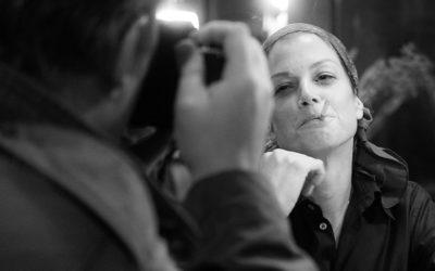 "Marie Bäumer jako Romy Schneider w filmie ""3 dni w Quiberon"" (2018) | reż. Emily Atef | fot. Peter Hartwig"