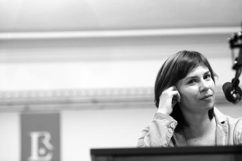 Tania Maliarczuk na Rauriser Literaturtage 2014