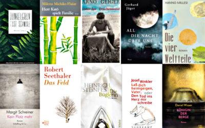 Nominowani do Österreichischer Buchpreis 2018