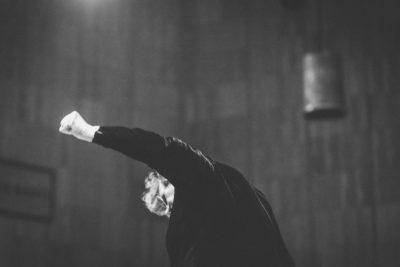Dyrygent Agnieszka Duczmal w Studiu Koncertowym Polskiego Radia (2019)   fot. Piotr Banasik/Banan Studio
