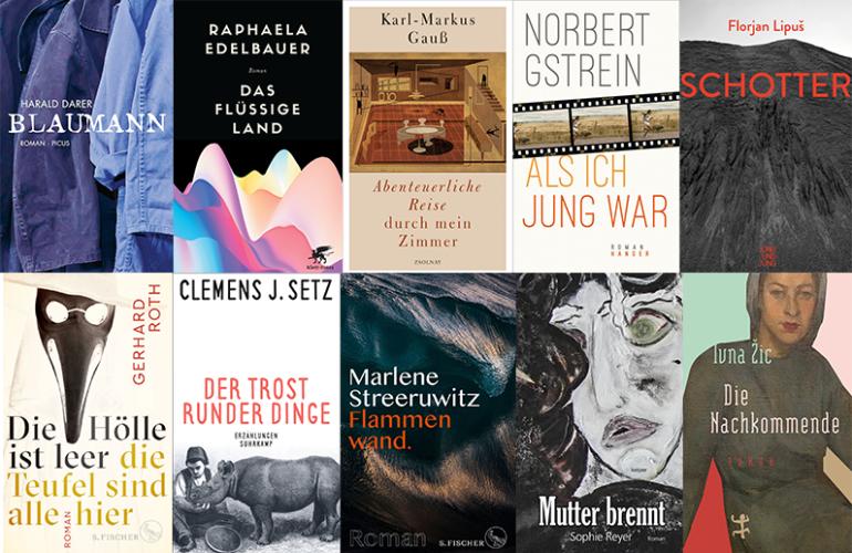 buchpreis longlist 2019 nagrody literackiej austrii