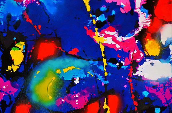 "Fragment instalacji ""Ferrofluktuacje"" | fot. AP KunstArt"