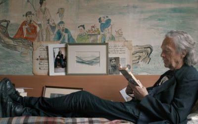 Kadr z filmu dokumentalnego o Peterze Handkem